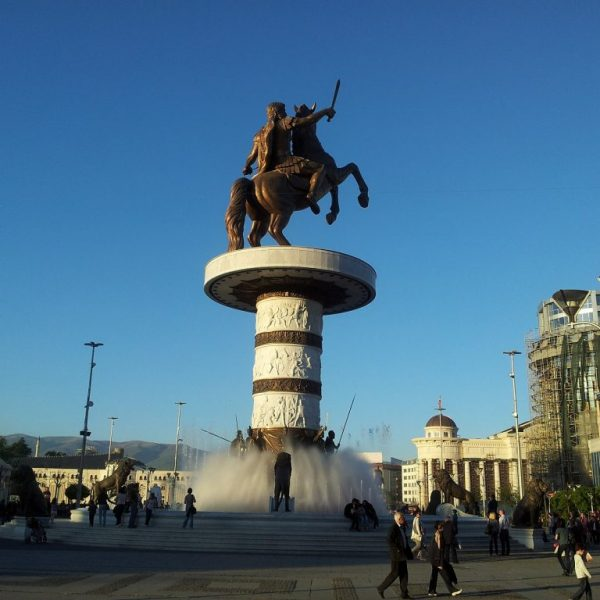 The Macedonian Crisis – a Game of Influence (?)